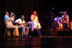 James, Evri, Carmen and David perform The Garden